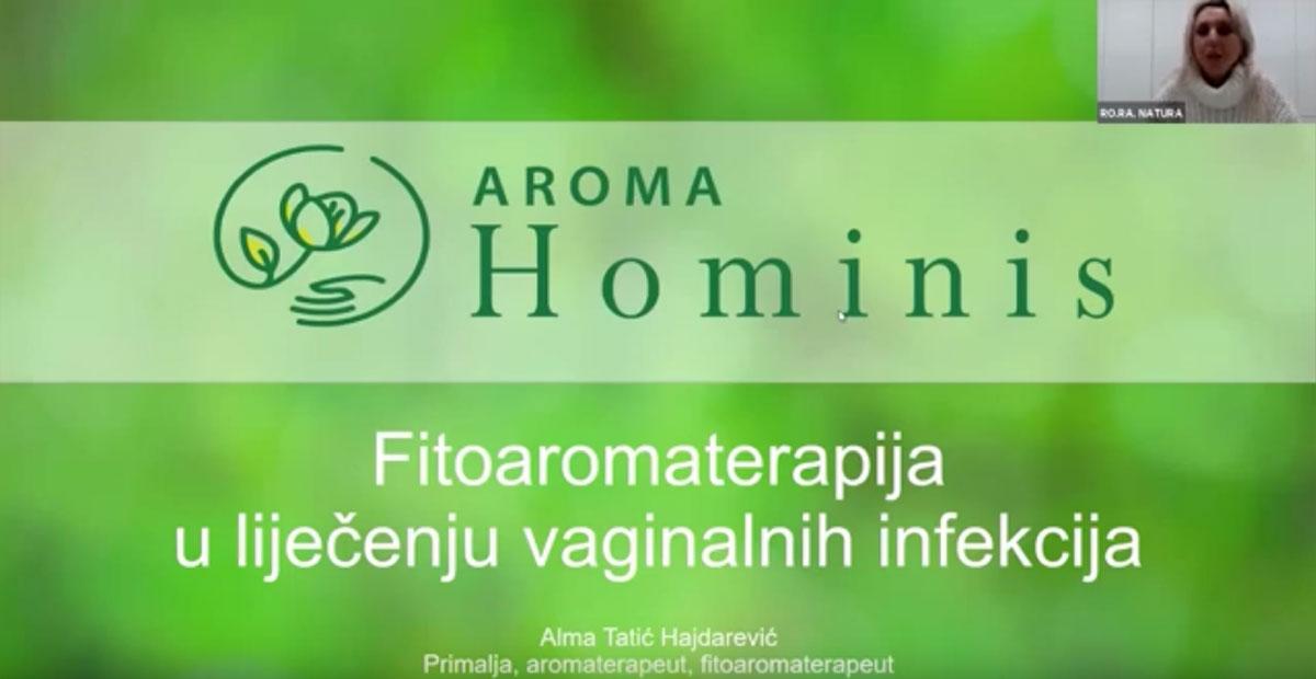 """Gostovali smo na portalu Rora Nature """"Um Tijelo Zdravlje"""" s predavanjem na temu """"Aromafitoterapija u liječenju vaginalnih infekcija"""". Govorili smo o vrstama vaginalnih infekcija i prevencijama za očuvanje vaginalnog zdravlja. Poseban naglasak smo stavili na fitoaromaterapeutski pristup prevenciji i liječenju vaginalnih infekcija. Pogledajte cijelo predavanje ovdje:"""