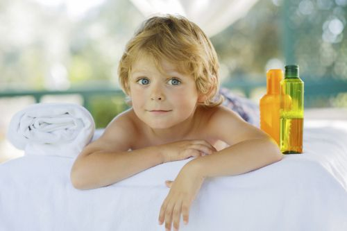 Aromaterapeutske masaže za djecu